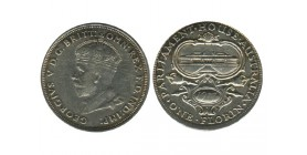 1 Florin Georges V Australie Argent