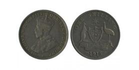 1 Shilling Georges V Australie Argent