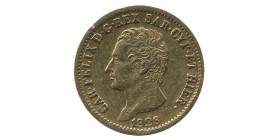 20 Lires Charles Félix Italie - Sardaigne