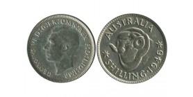 1 Shilling Georges VI Australie Argent