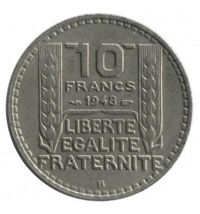 10 Francs Turin Petite Tête Quatrième République