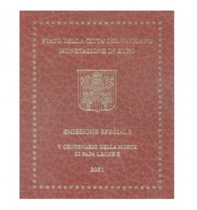 Série B.U. Vatican 2021 - 9 Pièces