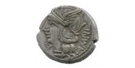 Denier Baebia - République Romaine