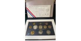 Série B.E. en Francs 1998 - 5 Centimes 4 Plis