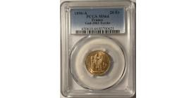 20 Francs Génie 1896 A Torche - PCGS MS64