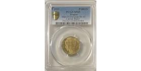 100 Francs Bazor Essai Bronze Aluminium 1929 - PCGS SP65