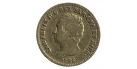 20 Lires Charles Félix - Italie Sardaigne