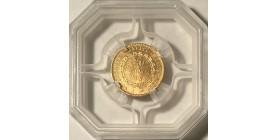 20 Francs Génie 1893 A - GENI MS63