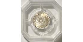 1 Franc Semeuse 1909 - GENI MS64