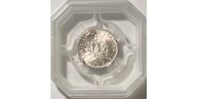 1 Franc Semeuse 1917 - GENI MS65