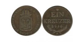 1 Kreuzer Autriche