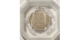 10 Francs Turin Argent 1932 - GENI MS64