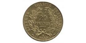 20 Francs Cérès Seconde République