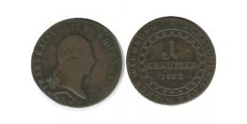 1 Kreuzer Francois II Autriche