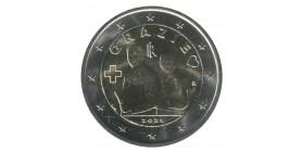 2 Euros Italie 2021 - Grazie