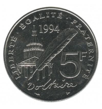 5 Francs Voltaire