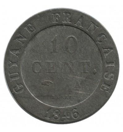 10 Centimes - Guyane