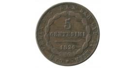 5 Centimes Italie - Sardaigne