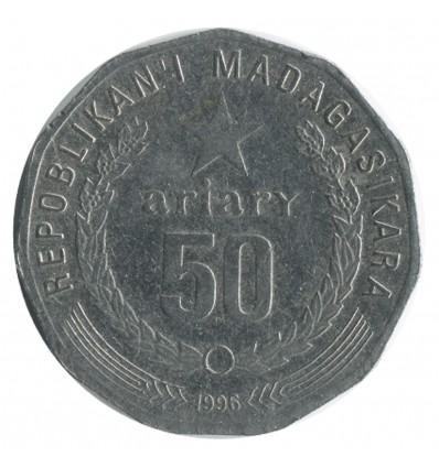 50 Ariary - République de Madagascar