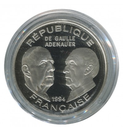 100 Francs Général De Gaulle - Adenauer