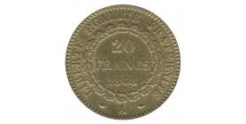 20 Francs Génie  Deuxième République