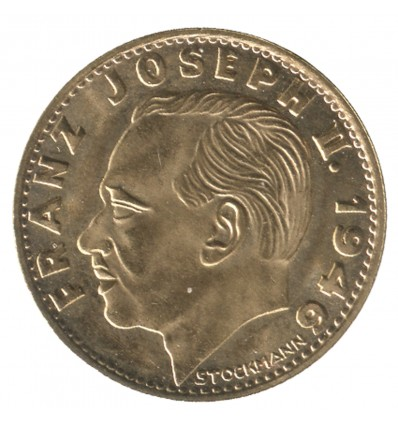 10 Franken Prince François Joseph II - Liechtenstein