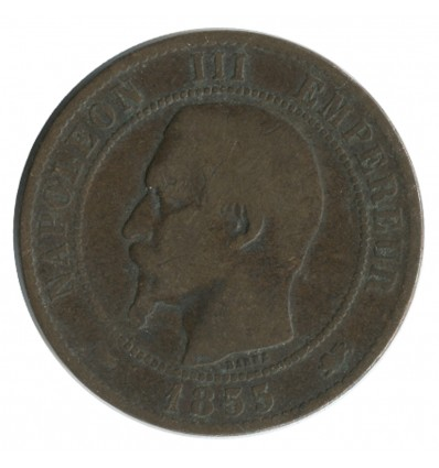 10 Centimes Napoléon III Tête Nue