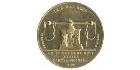 Module de 20 Francs Visite de René Coty à la Monnaie de Paris