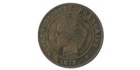 2 Centimes Cérès Troisième République