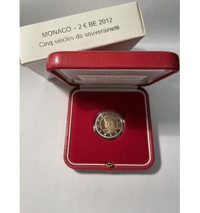 2 Euros Monaco 2012 Lucien Ier BE