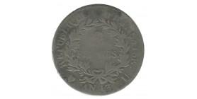 2 Francs Napoléon Empereur Calendrier Révolutionnaire