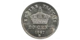 20 Centimes Napoléon III Tête Laurée Grand Module Second Empire