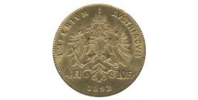 4 Florins - 10 Francs François Joseph Ier - Autriche