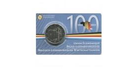 2 Euros Commémorative Belgique 2021
