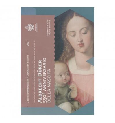 2 Euros Saint Marin 2021 - Dürer