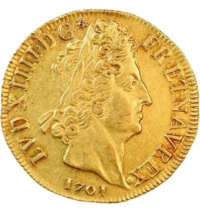 Double Louis aux 8L et aux Insignes - Louis XIV