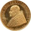 Médaille Or Jean XXIII Conseil Oecuménique - Vatican