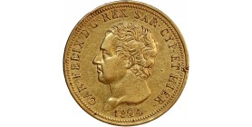 80 Lires Charles Felix - Italie Sardaigne