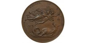 Médaille Prise d'Alger par le Comte de Bourmont le 5 Juillet 1830 - Algérie