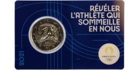 2 Euros France 2021 - Jo Paris 2024 (Blister Bleu)
