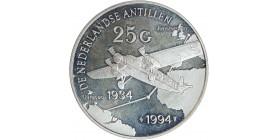 25 Florins - Antilles Hollandaises Argent