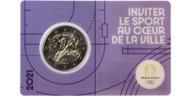 2 Euros France 2021 - JO Paris 2024 (Blister Violet)