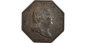 Jeton en Argent Louis XVIII - Chambre des Monnaies de Senlis