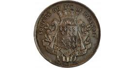 Médaille en Argent Société du Tir de Picardie fondée en 1867
