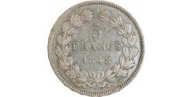 5 Francs Louis-Philippe Ier Tête Laurée
