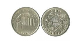 1 Schilling Autriche Argent