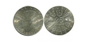 25 Schilling Autriche Argent