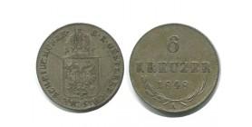 6 Kreuzer Autriche Argent