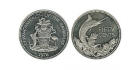 50 Cents Elisabeth II Bahamas