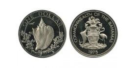 1 Dollar Bahamas Argent